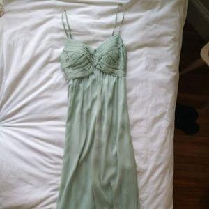 BHLDN Sage Green Bridesmaid Dress